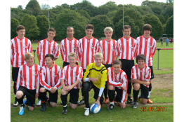 Bitton U15 2010/11 Welsh Super Cup Semi Finalists
