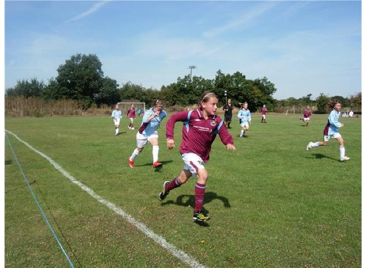 Action from the pre season Hawkwell Festival