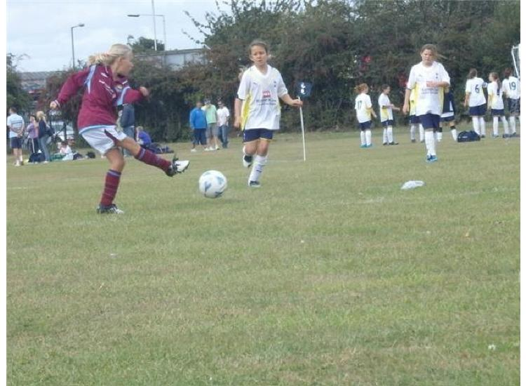 Action from the Tottenham Hotspur Festival