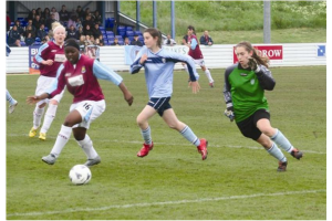 Action v Brentwood Town in League Cup Final