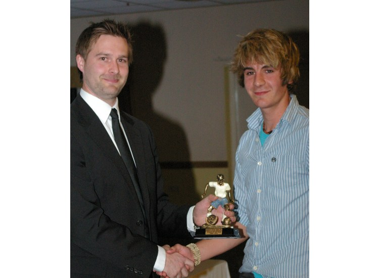 U19 MOST IMPROVED PLAYER JAKE MAWFORD, Awarded by Ryan Northmore