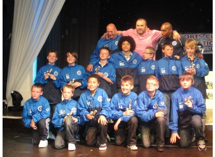 west side athletic fc on tour with Neil Razor Ruddock in pic