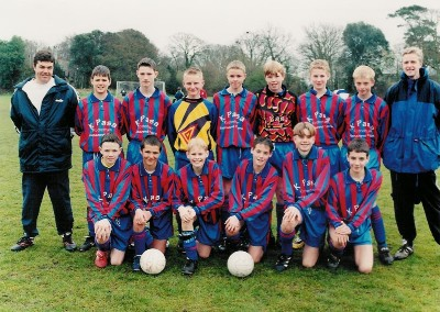 Under 16's 2000-2001 managed by Former Honorary Club President Andy Gathercole