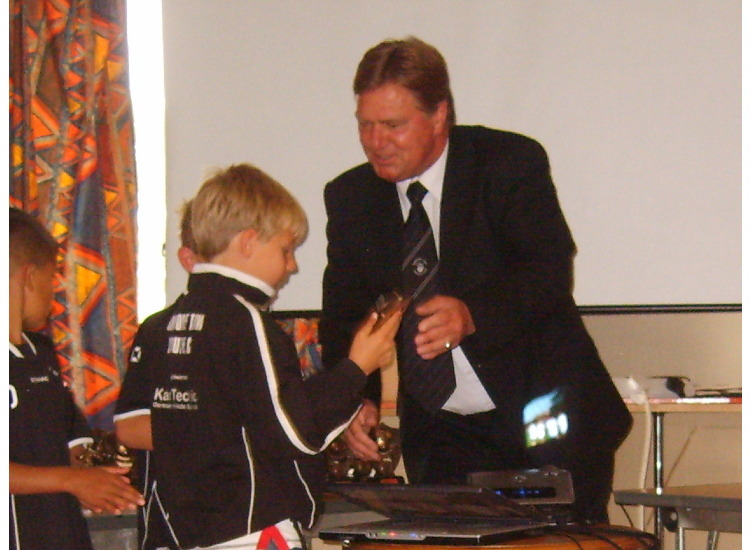 U9's Harry collects another trophy