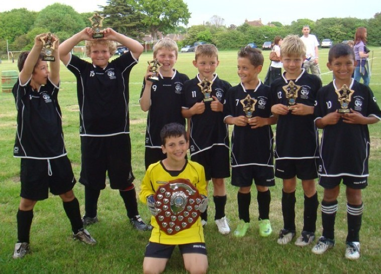 2009/10 Everton 6 a side Champions