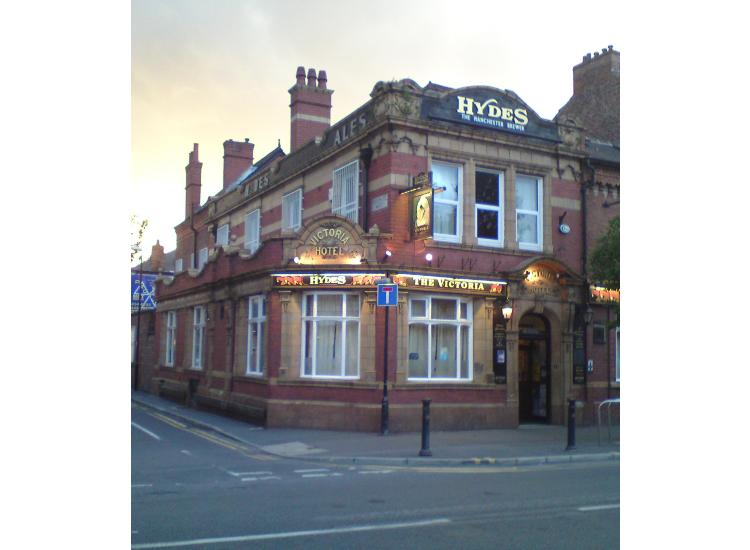 Image result for the victoria pub withington
